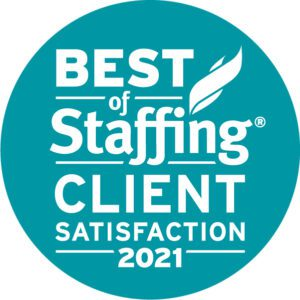 2021 Best of Staffing Client Award