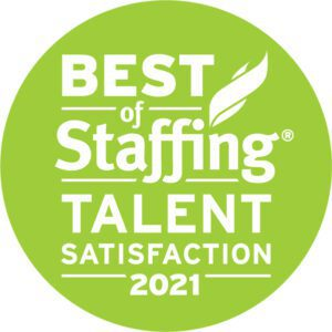 2021 Best of Staffing Talent Award